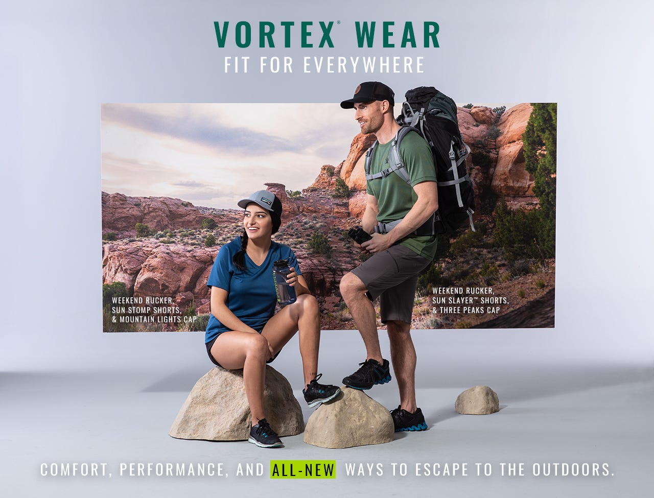 New Vortex Wear - Fit for Everywhere