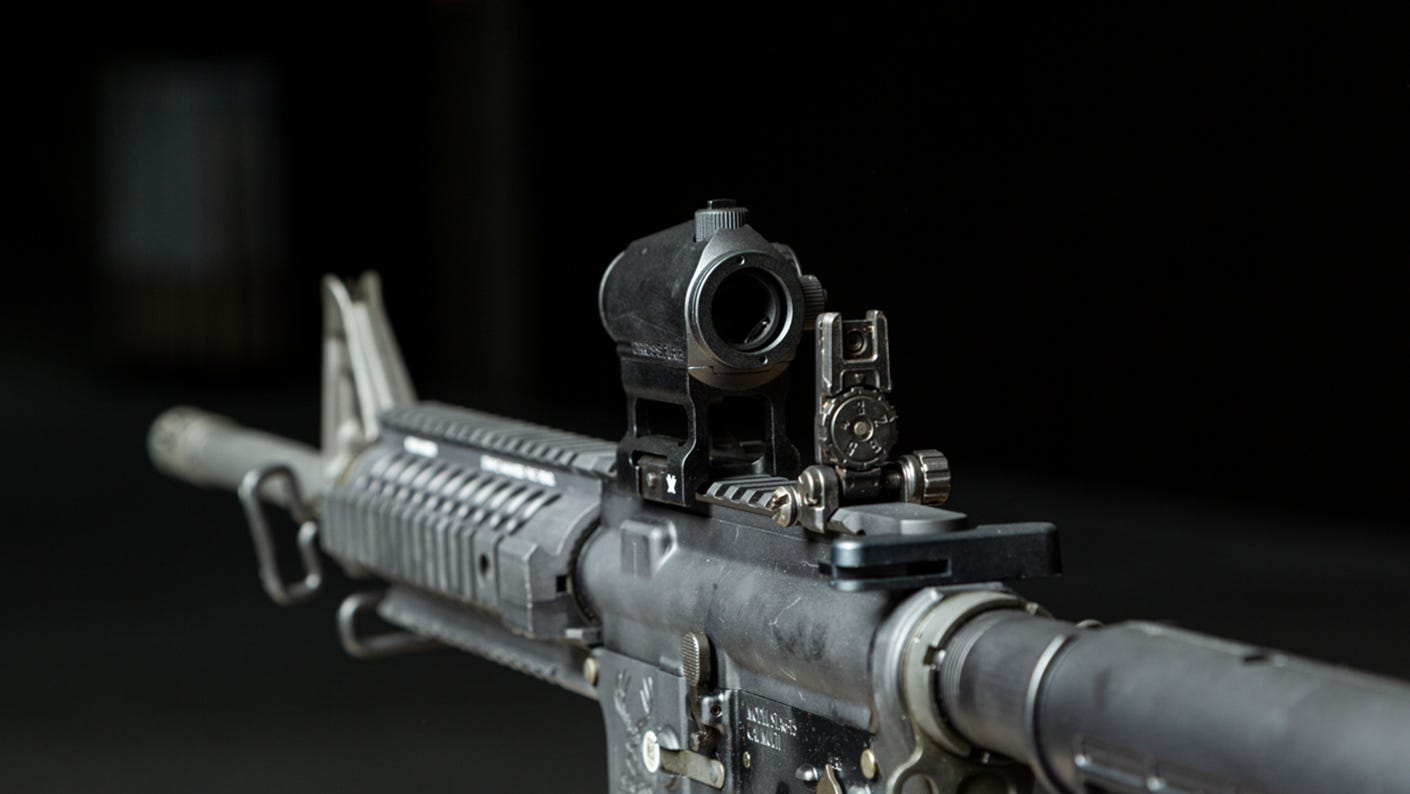 Red Dot on a Riflescope