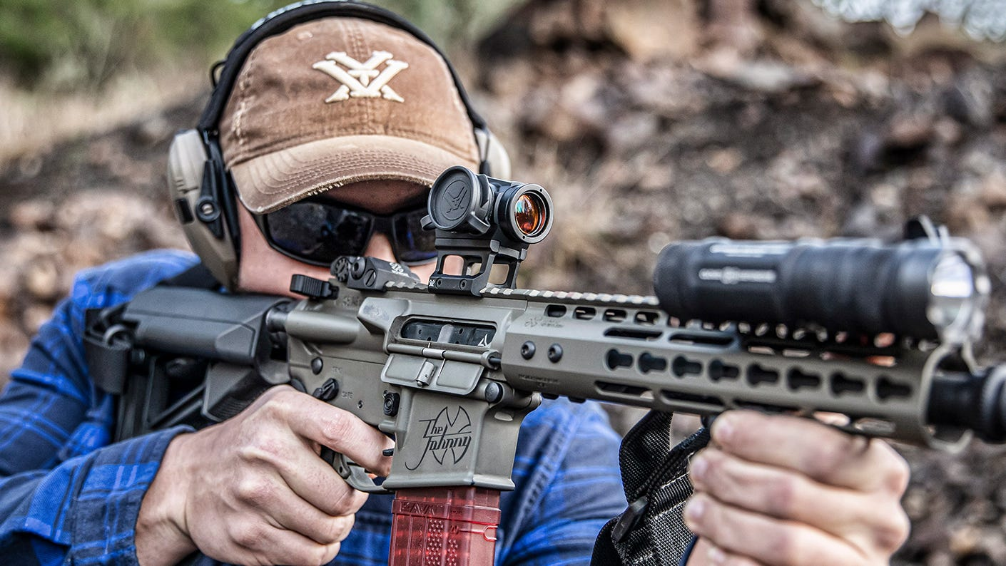 Shooter using the New Sparc Solar Red Dot