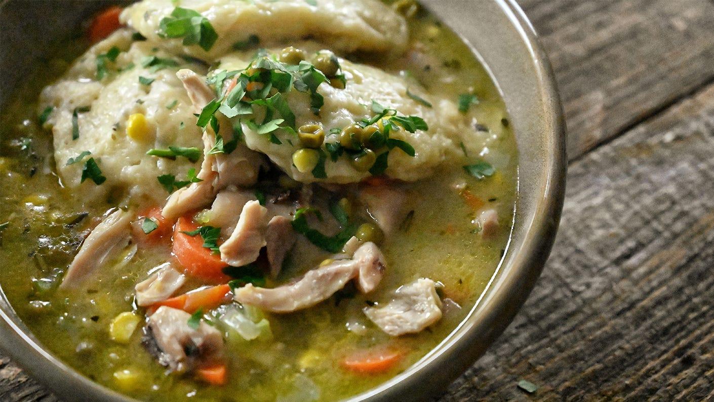 Jeremiah Doughty Leftover Turkey & Dumplings  Recipe