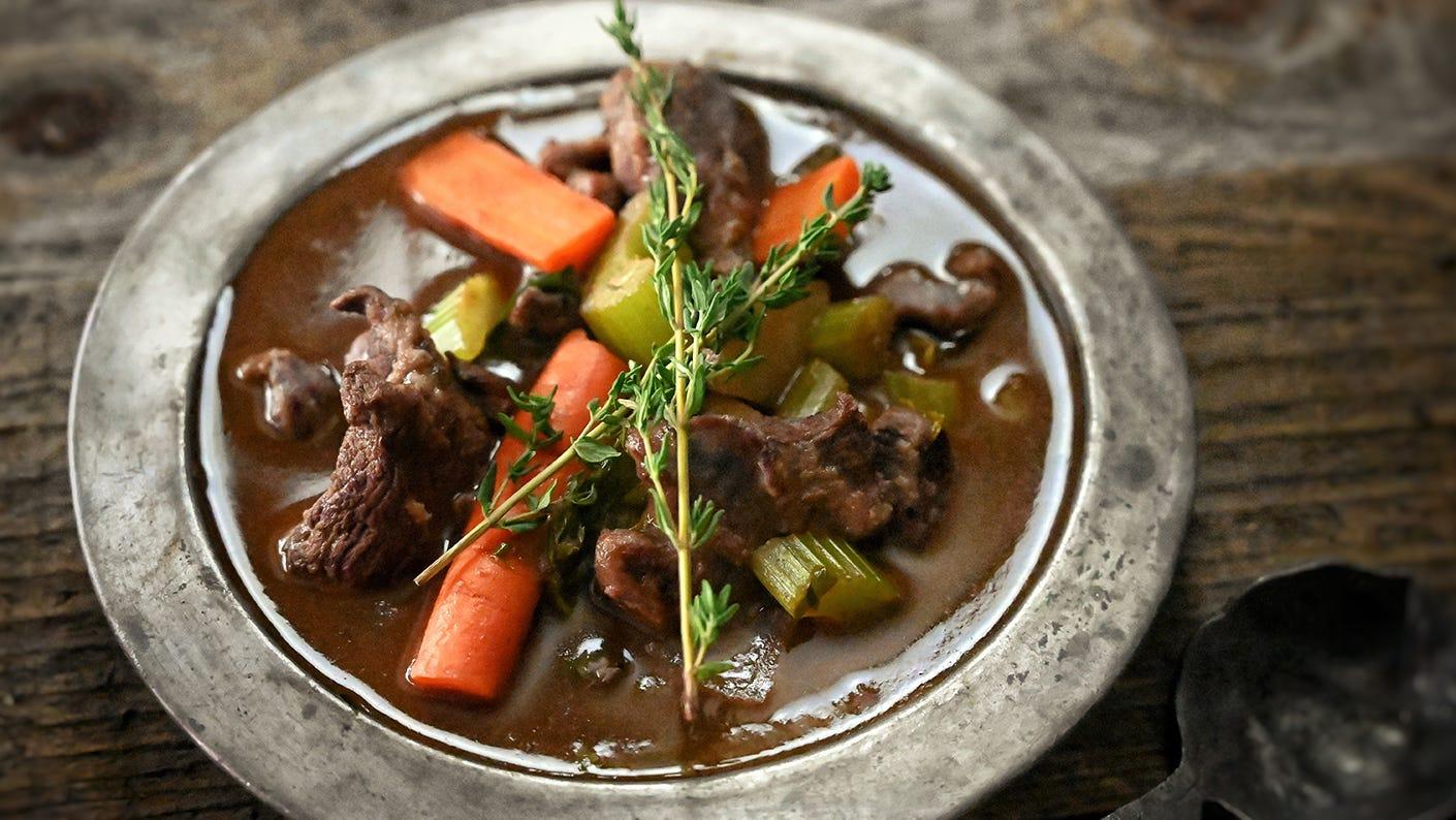 Jeremiah Doughty Venison Stew Recipe