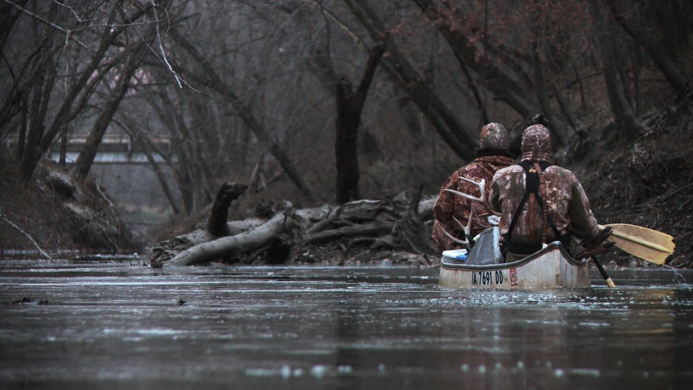 Hitting the Water to Hunt Pressured Whitetails