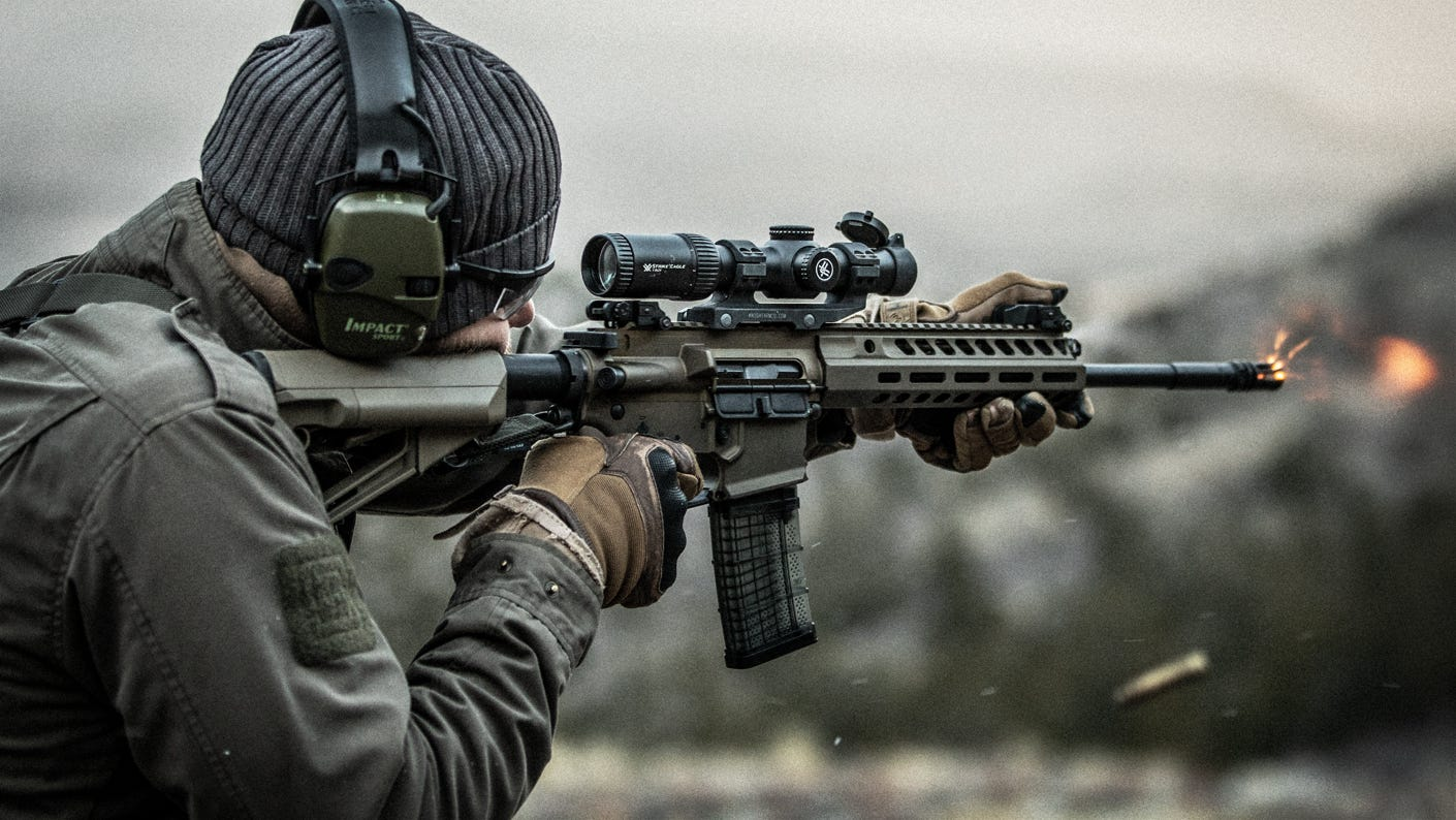Making Sense of Magnified Optics on a Tactical Carbine
