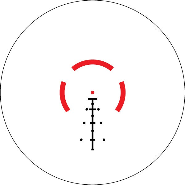 Spitfire HD Gen II AR-BDC4 Reticle